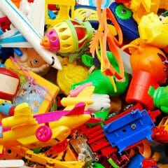 An assortment of toys