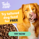 Tails free dog food